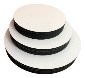 Cake board - Kit Com 10 Tábuas 32cm Mdf 3mm Sem Logo