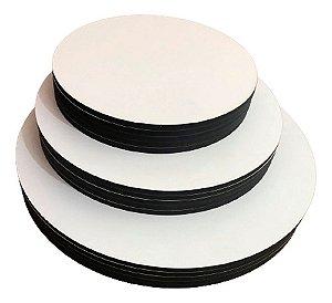Cake board - Kit Com 10 Tábuas 18cm Mdf 3mm Sem Logo