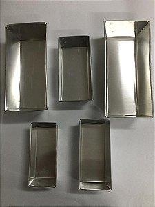 Forma Para Bolo/pão Inglês Alumínio
