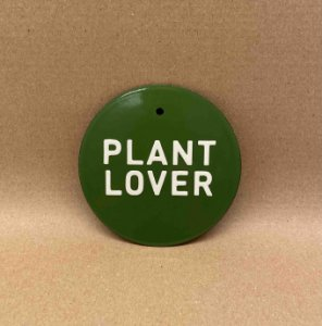 PLACA PLANT LOVER