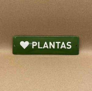 PLACA PLANTAS