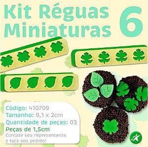 Kit Réguas Miniaturas 6