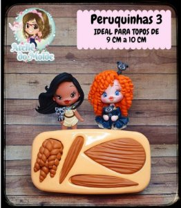 MOLDE PERUQUINHAS 3 - MARIA DINIZ
