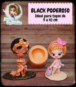 MOLDE BLACK PODEROSO - MARIA DINIZ