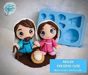 Molde Presépio Cute - Biscuit do Gi