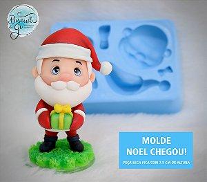 Molde Noel Chegou! - Biscuit do Gi