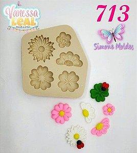 Molde Flores Silvestres - Simone Moldes