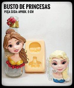 Molde Busto de Princesas