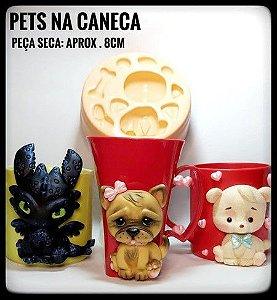 Molde Pets na Caneca