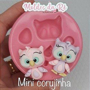 Molde Mini Corujinha