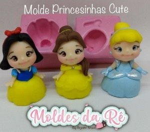 Molde Princesinhas Cute