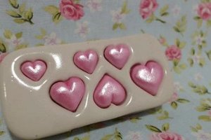 Molde Mini Corações