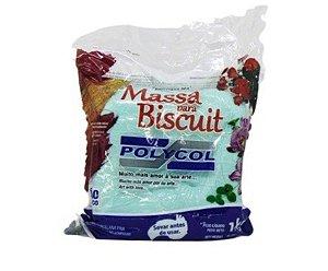 Massa para Biscuit - Verde Sereia