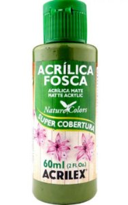 Tinta Acrílica Verde Oliva