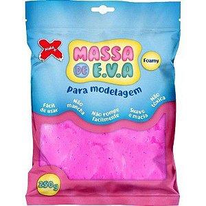 Massa de EVA Lisa 50g Rosa