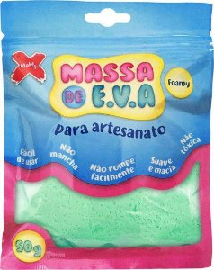 Massa de EVA Lisa 50g Verde Claro