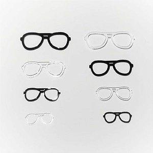 Óculos de Acrílico Modelo 04