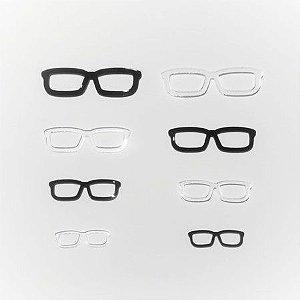 Óculos de Acrílico Modelo 02