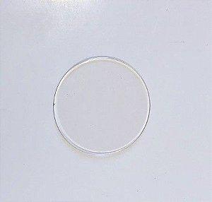 Base ACrílica Redonda 7 cm c/ 10 unidades