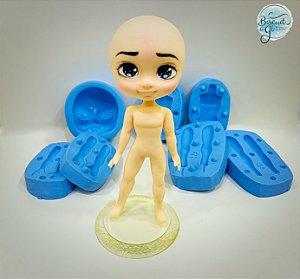 Molde Bonecos 3D