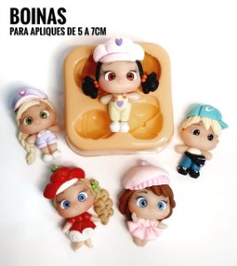 Molde Boinas - Maria Diniz