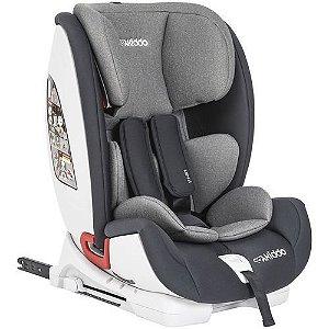Cadeira Auto Lenox Kiddo Mars Isofix 9 a 36kg Grafite - 571GR