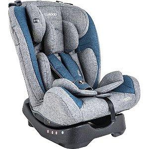 Cadeira de Auto Lenox Kiddo Grow Azul e Cinza 0 a 36kg.