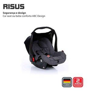 Bebê Conforto Risus Asphalt Diamond da Abc Design