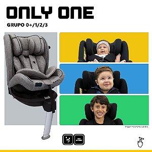 Cadeira para Carro Only One Asphalt da Abc Design
