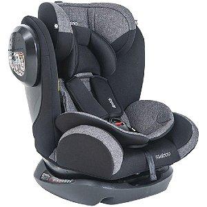 Cadeira Para Auto Stretch Melange Preto 0 à 36Kg da Kiddo