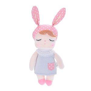 Mini Doll Metoo Angela Clássica Cinza 20cm