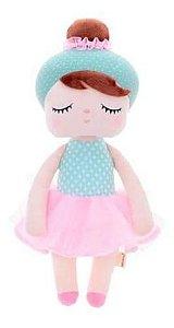 Mini Doll Metoo Angela Sofia Ballet Verde 20cm