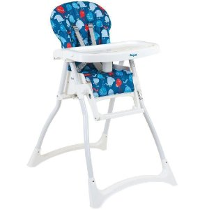 Cadeira de Refeição  Merenda Passarinho Azul Da Burigotto