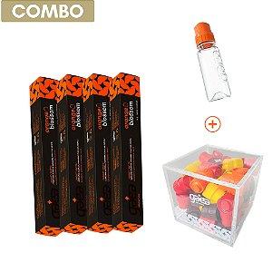 Anti-inflamatório - Orange Blossom - 28 Shots + Porta Shots + Garrafinha