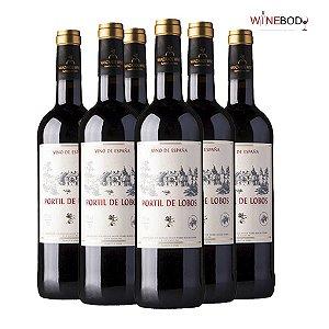 Kit Portil de Lobos Tinto - 6 garrafas