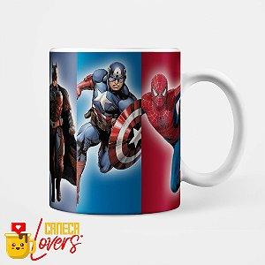 Caneca Heróis Marvel