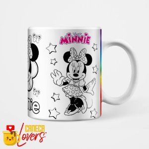 Caneca para Colorir - Minnie
