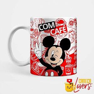 Caneca Mickey - Com Café / Sem Café