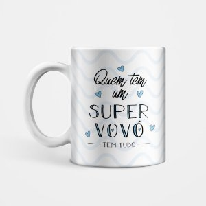 Caneca Super Vovô