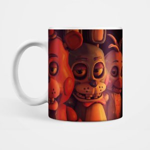 Caneca - Five Night's at Freddy's / Animatronics