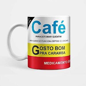 Caneca - Café Remédio