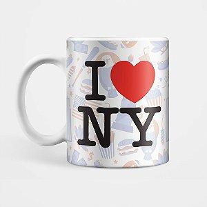 "Caneca - ""I Love New York"""