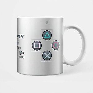 Caneca Joystick Playstation