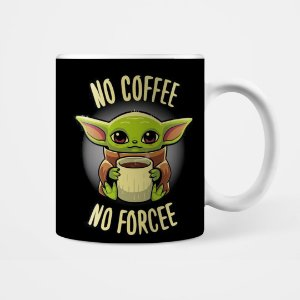 Caneca - Baby Yoda - No Force