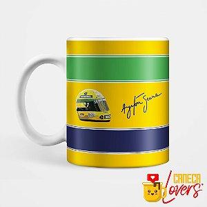 Caneca Ayrton Senna