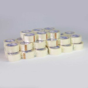 Caixa 24 Fita Adesiva Empacotamento Incolor Acrílica 45 mm X 100 Metros