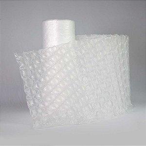 Manta Bolhada Redonda Caixa 2 Bobinas De Filme Plástico Bolha x 300 metros cada