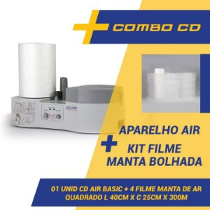 Maquina CDAIR Compact + 4 Filmes Manta Bolhada