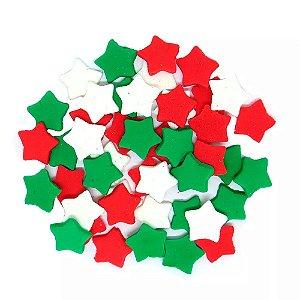 Enfeite de Natal em Açúcar Estrela
