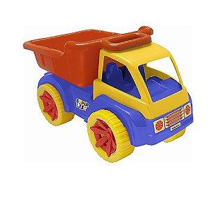 Brinquedo Caminhão Caçamba Grande Carrinho Infantil 60cm 911